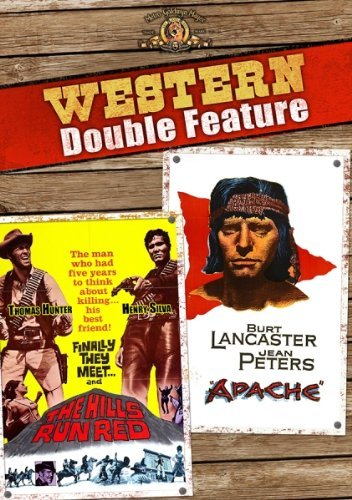 Hills Run Red Apache Double Feature DVD G