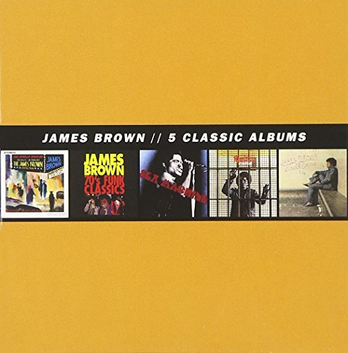 James Brown 5 Classic Albums