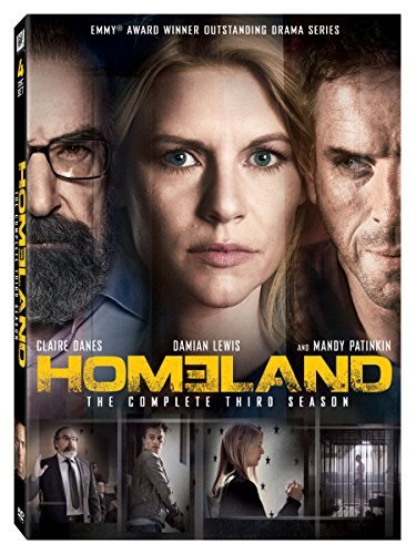 Homeland Season 3 DVD