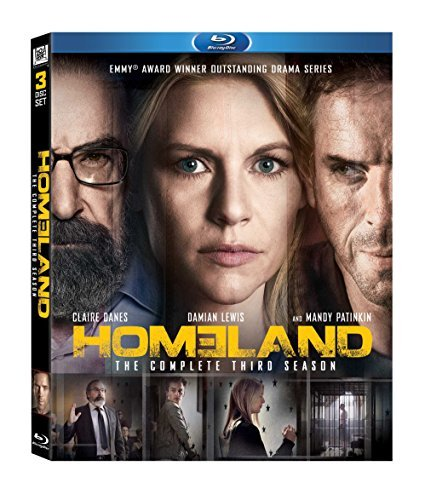 Homeland Season 3 Blu Ray