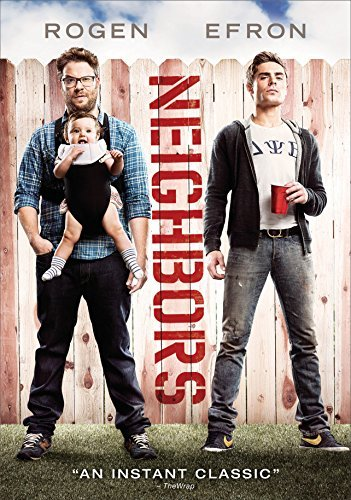 Neighbors (2014) Rogen Efron DVD R