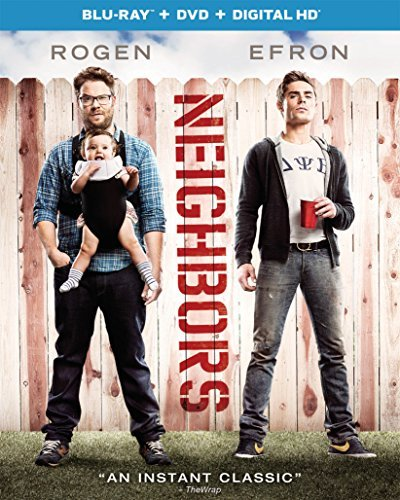Neighbors (2014) Rogen Efron Blu Ray DVD R