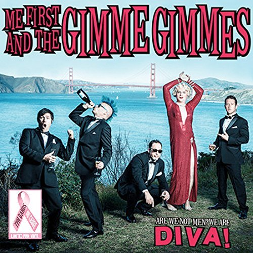 Me First And The Gimme Gimmes Are We Not Men We Are Diva (pink Vinyl)