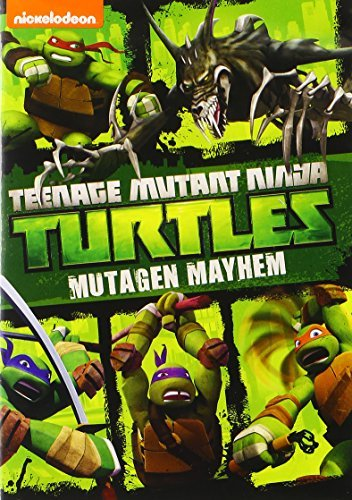Teenage Mutant Ninja Turtles Mutagen Mayhem DVD