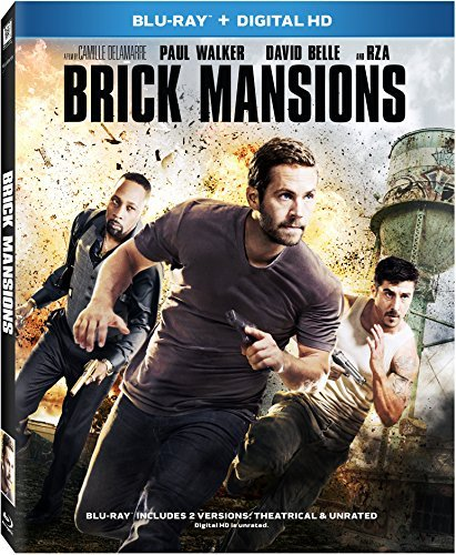 Brick Mansions Walker Rza Belle Blu Ray Pg13