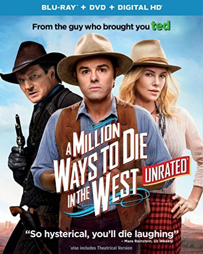 A Million Ways To Die In The West Macfarlane Theron Neeson Blu Ray DVD Uv R