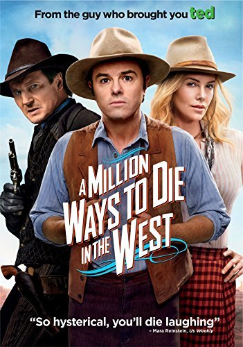 A Million Ways To Die In The West Macfarlane Theron Neeson DVD R