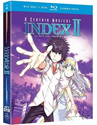 Certain Magical Index Ii Season 2 Part 2 Blu Ray DVD Nr