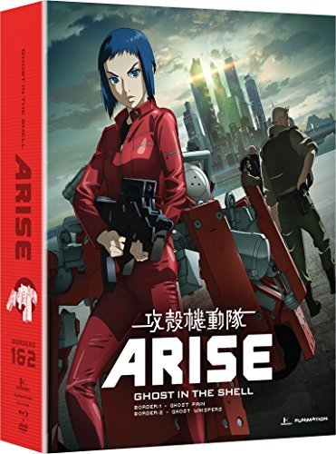 Ghost In The Shell Arise Borders 1 & 2 Blu Ray