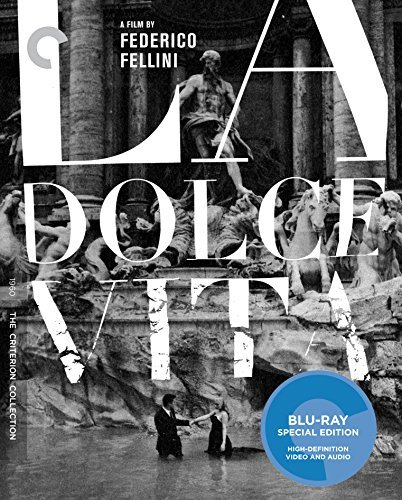La Dolce Vita La Dolce Vita Blu Ray Nr Criterion Collection