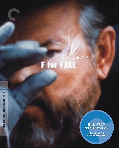 F For Fake Orson Welles Blu Ray Pg Criterion Collection