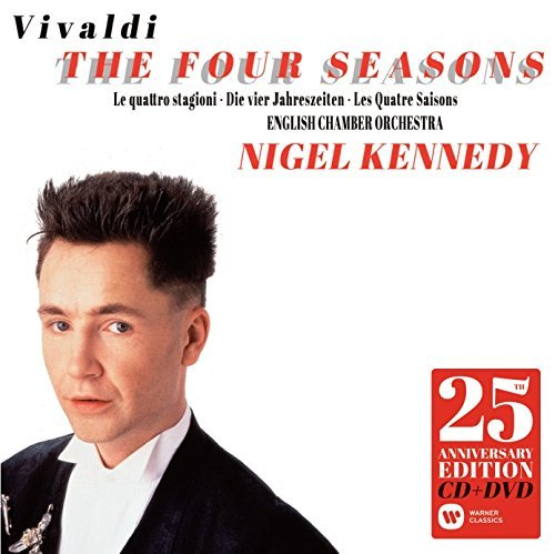 Vivaldi Nigel Kennedy Four Seasons 25th Anniversary Incl. DVD