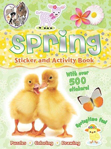 Gemma Cooper Spring Sticker And Activity Book