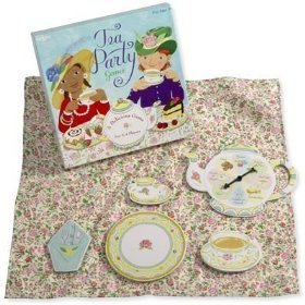 Toy Tea Party Spinner Game