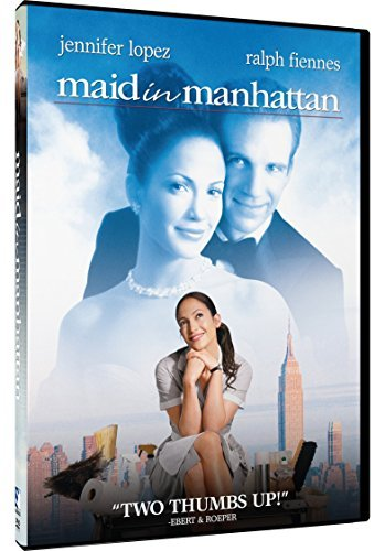 Maid In Manhattan Lopez Fiennes Richardson Tucci DVD Pg13