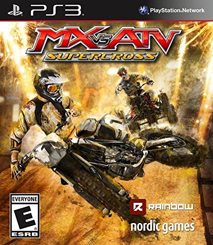 Ps3 Mx Vs Atv Supercross Mx Vs Atv Supercross