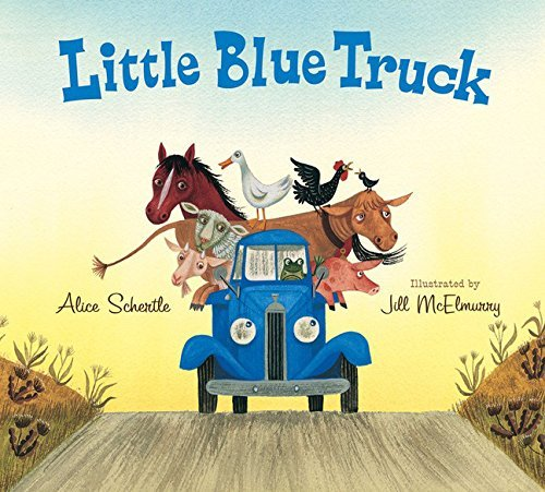 Alice Schertle Little Blue Truck Lap Board Book