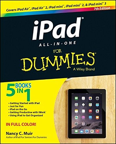 Nancy C. Muir Ipad All In One For Dummies 0007 Edition;