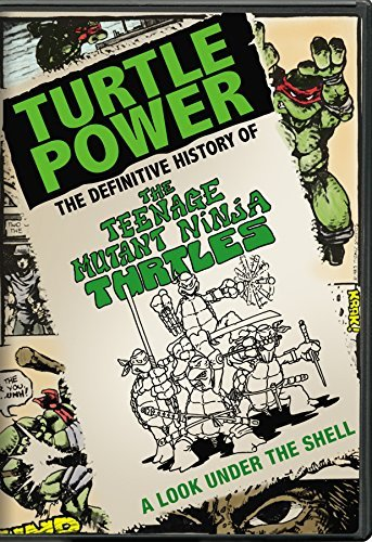 Turtle Power Definitive History Of The Teenage Mu Turtle Power Definitive History Of The Teenage Mu DVD Nr