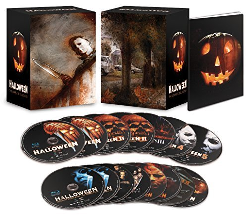Halloween Complete Collection Blu Ray Limited Deluxe Edition