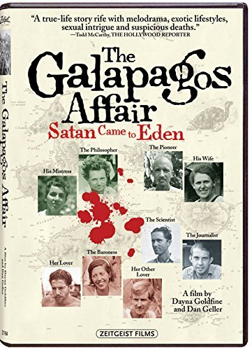 The Galapagos Affair Satan Came To Eden The Galapagos Affair Satan Came To Eden DVD Nr