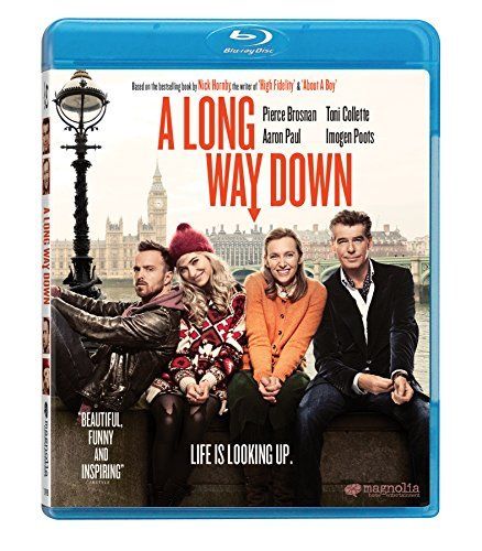 A Long Way Down Brosnan Collette Poots Paul Blu Ray R