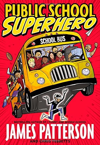 James Patterson Public School Superhero