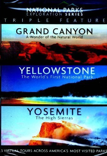 National Parks Exploration Series Triple Feature