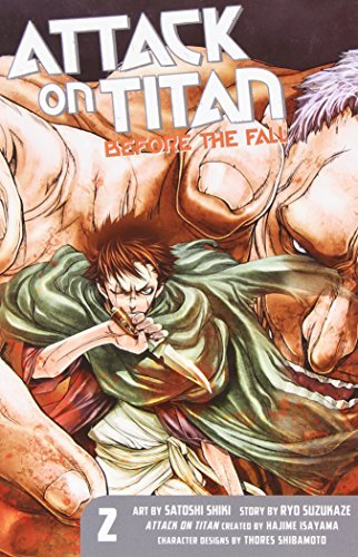Satoshi Shiki Attack On Titan Before The Fall 2