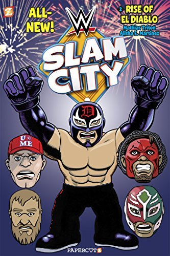 Mathias Triton Wwe Slam City #2 The Rise Of El Diablo