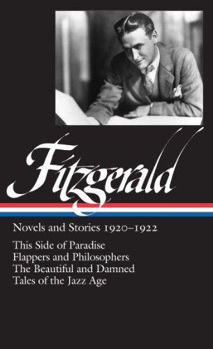 Jackson R. Bryer F. Scott Fitzgerald Novels And Stories 1920 1922