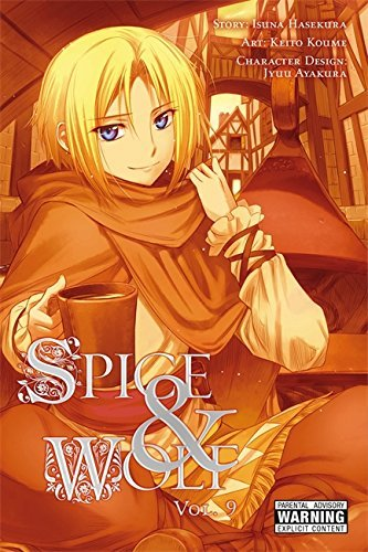 Isuna Hasekura Spice And Wolf Vol. 9 (manga)