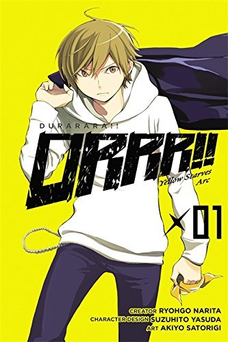 Ryohgo Narita Durarara!! Yellow Scarves Arc Volume 1