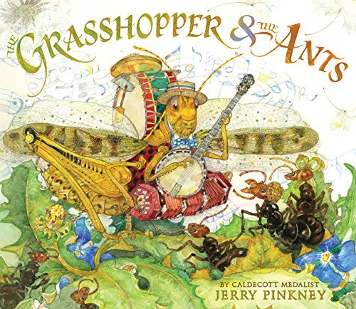 Jerry Pinkney The Grasshopper & The Ants