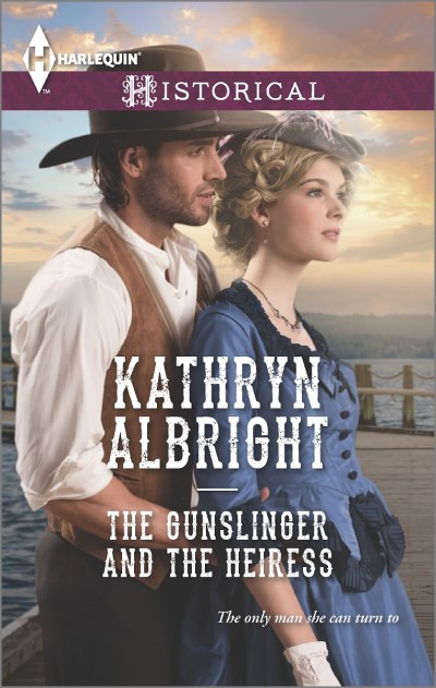 Kathryn Albright The Gunslinger And The Heiress