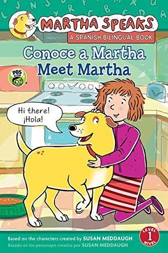 Susan Meddaugh Martha Habla Conoce A Martha Martha Speaks Meet Martha Biling