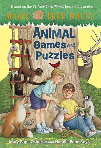 Mary Pope Osborne Animal Games And Puzzles