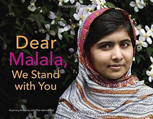 Rosemary Mccarney Dear Malala We Stand With You