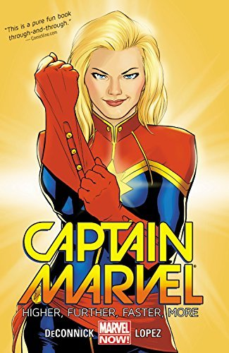 Marvel Comics Captain Marvel Volume 1 Higher Further Faster More