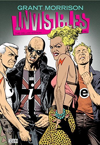 Grant Morrison The Invisibles Book Three Deluxe Edition