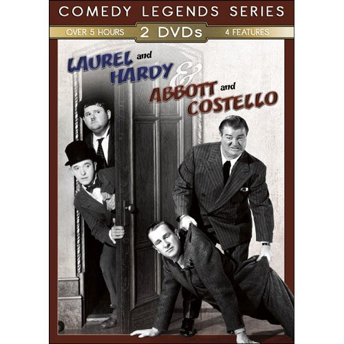 Abbott & Costello Laurel & Har Abbott & Costello Laurel & Har Nr 4 DVD