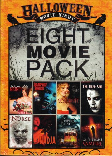 Halloween Movie Night Eight Movie Pack