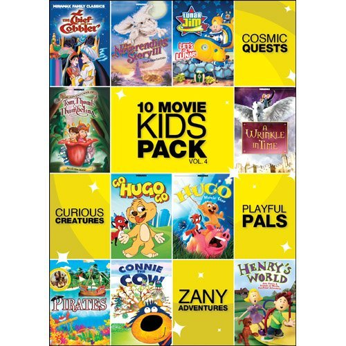 Vol. 4 10 Movie Kids Pack Nr 2 DVD