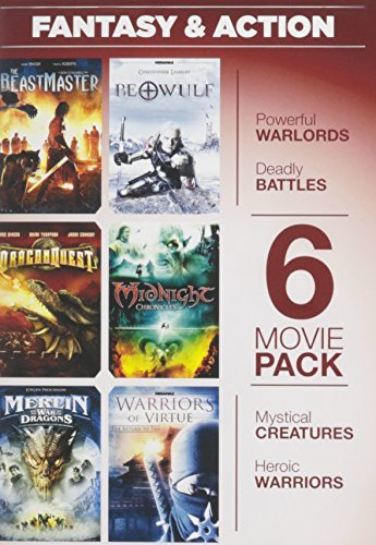 6 Movie Pack Fantasy & Action 6 Movie Pack Fantasy & Action Nr 2 DVD