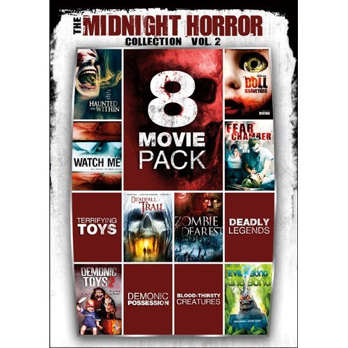 Midnight Horror Collection Vol. 2 8 Movie Pack Nr