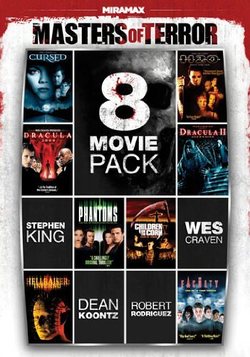 Masters Of Terror Vol. 1 8 Film Pack R 2