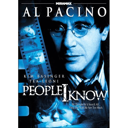 People I Know Pacino Basinger Leoni Ws R