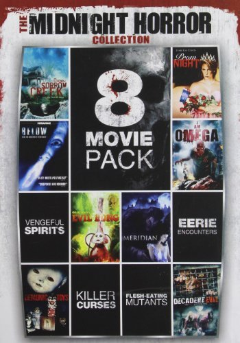 Midnight Horror Collection Vol. 1 8 Movie Pack Nr