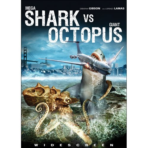 Mega Shark Vs. Giant Octopus Gibson Lamas R