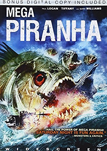 Mega Piranha Logan Tiffany Williams Ws Nr Incl. Digital Copy